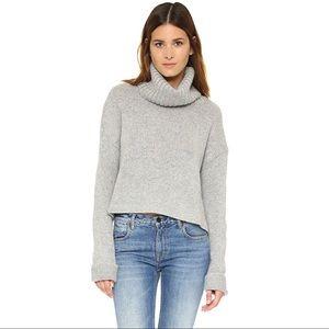 One Teaspoon Entourage Wool Blend Knit Gray XXS